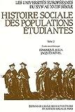 Les Universites europeennes du XVIe au XVIIIe siecle: Histoire sociale des populations etudiantes (Studies in history and the social sciences) (French Edition) (2713209234) by Roger Chartier