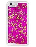 ( UN ANANAS )ラメ キラキラ iPhone6 カバー ケース 星 スター かわいい 珍しい 携帯 アイフォン きれい(ピンク)