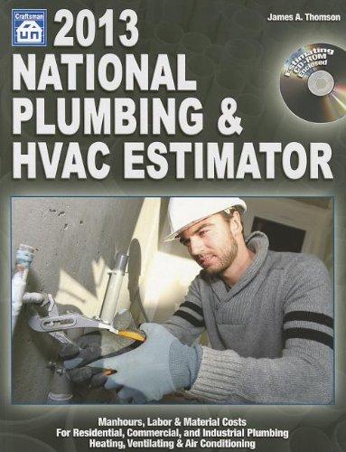 National Plumbing & HVAC Estimator [With CDROM] (National Plumbing & HVAC Estimator (W/CD))