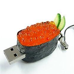 ソリッドアライアンス SushiDiskなの?すとらっぷ いくら2GB SNIK-02G