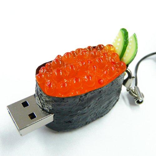 ソリッドアライアンス SushiDiskなの すとらっぷ いくら2GB SNIK-02G