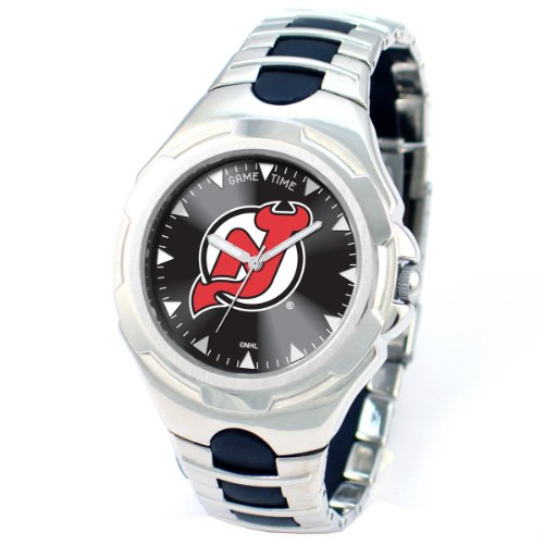 NHL Men's NHL-VIC-NJ Victory Series New Jersey Devils Watch