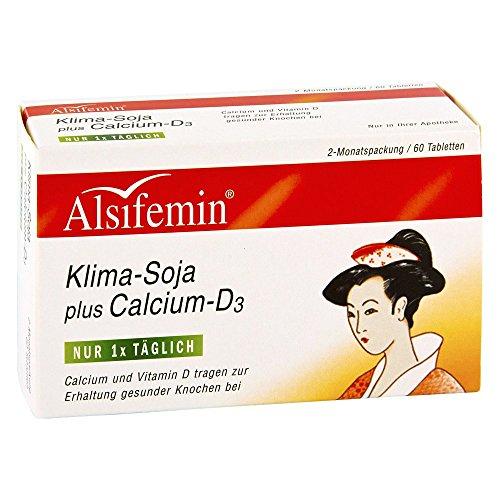 Alsiroyal ALSIFEMIN Klima Soja+Calcium+D3 Tabletten 60 St Tabletten