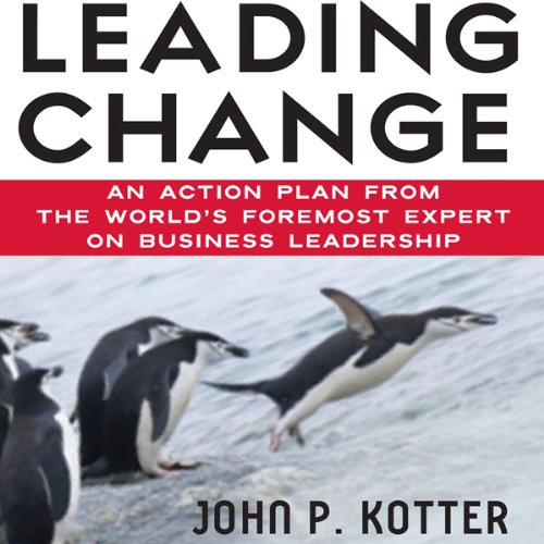 book review leading change by john Our iceberg is melting by john kotter - book review fables have a deceptive power our iceberg is melting is a powerful illustration of kotter's eight step process of successful change outlined in his book leading change.