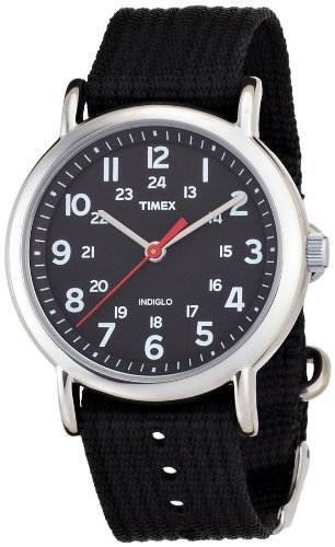 Timex Originals Central Park black dial with black strap watch - T2N647PF