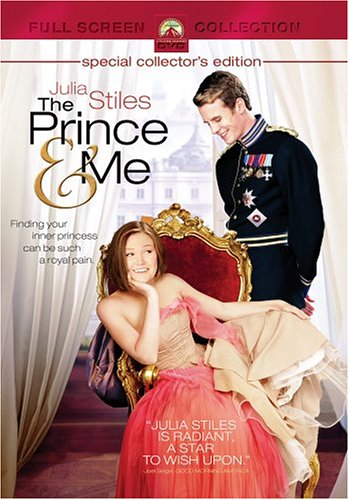 the prince and me full screen edition dvd 2004