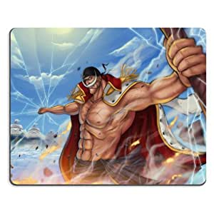 One Piece Whitebeard Prower Mouse pads Anime Game Manga Comic ACG Customized Made to Order Support Ready 9 7/8 inch (250mm) x 7 7/8 inch (200mm) x 1/16 inch (2mm) High Quality Eco friendly Cloth with Neoprene rubber woocoo mouse pad desktop mousepad laptop mousepads comfortable computer mouse mat cute gaming mouse_pad