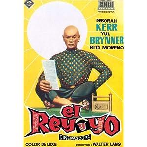 The King and I Poster Movie Spanish 11x17 Deborah Kerr Yul Brynner Rita Moreno Martin Benson