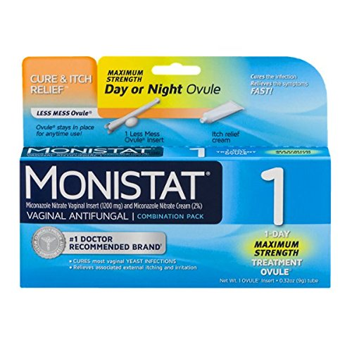 Monistat 3 is the midrange Monistat cream and is made to run on a three day treatment schedule, but runs a lower risk of skin irritation. Monistat 7 is the weakest option, but is .