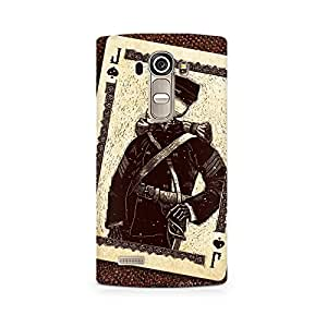 Mobicture Skull Premium Printed Case For LG G4