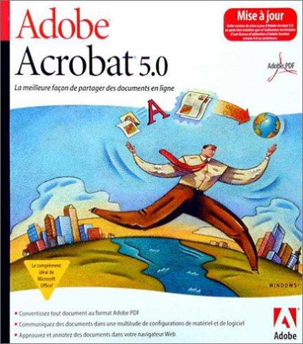 Upgrade Acrobat 5.0 Standard Mac French