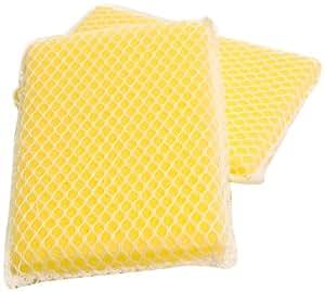 Lola 461 Nylon Net and Sponge Cleaning Pad, 12-Pack
