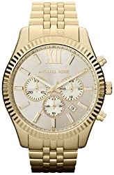 Michael Kors Watches Lexington (Gold) by Michael Kors Watches