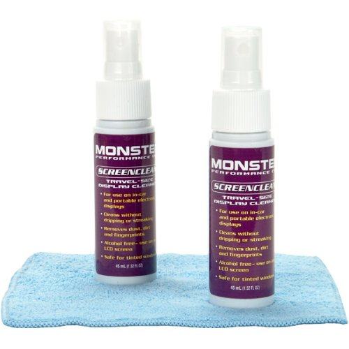 Monster Mbl Clnkit-Sm Screen Clean Mini - Traditional Packaging