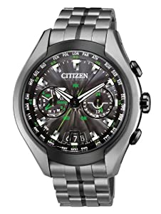Citizen Men's CC1055-53E Satellite Wave Air Eco-Drive Titanium Watch