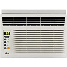 LG 6,000 BTU Window-Mounted Air Conditioner with Remote Control (115 volts) - LW6012ER