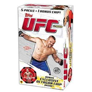 2010 Topps UFC Series 4 EXCLUSIVE Factory Sealed Blaster Box+Octagon Chip!