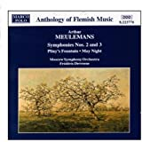 MEULEMANS: Symphonies Nos. 2 and 3
