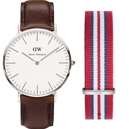 Daniel Wellington Bristol Y Correa extra 0209dw-0212set-Reloj de hombre