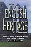 img - for The English Heritage Third Edition Volume II: Since 1689 book / textbook / text book