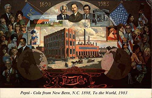 Pepsi-Cola-New-Bern-North-Carolina-Original-Vintage-Postcard