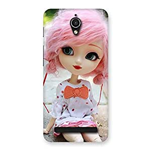 Pink Doll Back Case Cover for Zenfone Go