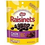 RAISINETS Dark Chocolate 8 oz. Standup Bag (pack of 2)