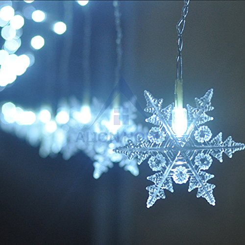 Curtains Ideas black friday curtain sales : Black Friday Sale 2'x10' 144 LED Snowflake Icicle Decorations ...
