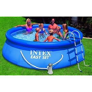 Pompa acqua intex 56932 piscina easy cm 366 x 91 con for Piscina tubular 366 x 91