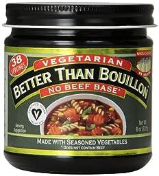 Better Than Bouillon, No Beef Base, Vegetarian, 8 oz.