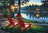 Dimensions Adirondack Evening Malen nach Zahlen mit Acrylfarben