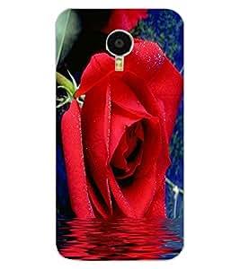 ColourCraft Beautiful Rose Design Back Case Cover for MEIZU M3 NOTE