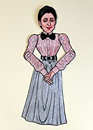 Emmy Noether Articulated Paper Doll
