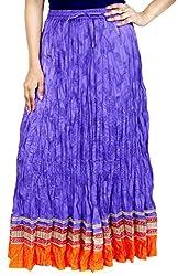 Rangreja Women's Skirt (WESK101PUO38_Purple_38)