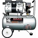 6.3 Gallon GMC SYCLONE 6310 Ultra Quiet and Oil-Free Air Compressor