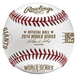 Rawlings 2014 World Series Dueling Teams Baseball with Kansas City Royals and San Francisco Giants Logos