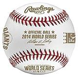 Rawlings 2014 World Series Dueling Teams Baseball with Kansas City Royals and San Francisco Giants Logos