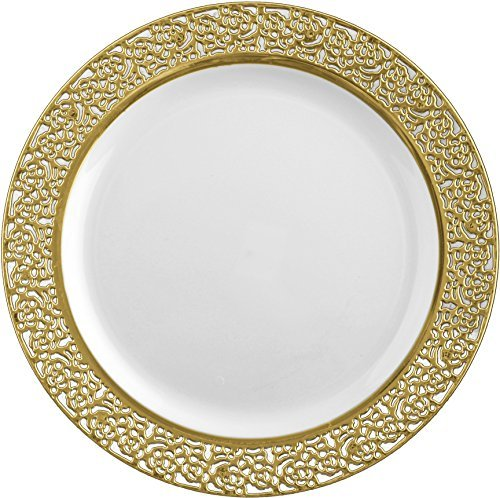 decor-elegant-disposable-premium-dinner-plates-inspiration-white-gold-1025-plates-by-decorline
