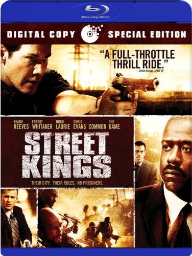 Cover art for  Street Kings (+ Digital Copy) [Blu-ray]