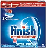 Finish Powerball Tabs Dishwasher Detergent, Fresh Scent, 60-Count
