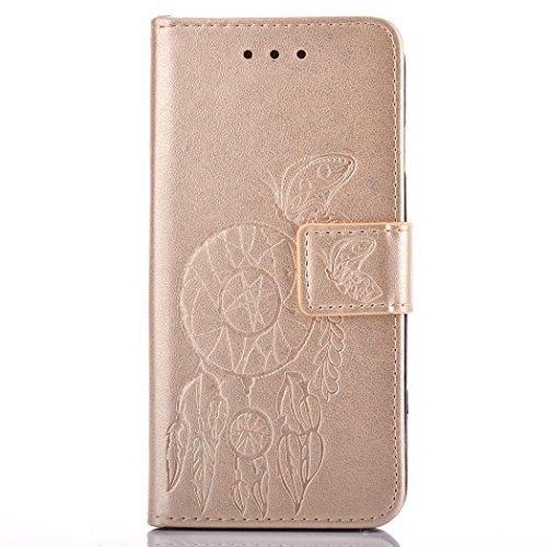 BONROY® Coque pour Samsung Galaxy G360F,Housse en cuir pour Samsung Galaxy G360F,imprimé étui en cuir PU Cuir Flip Magnétique Portefeuille Etui