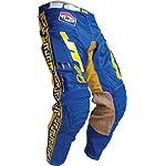 JT Racing USA Classick MX Pants (Blue/Yellow, Size 34)