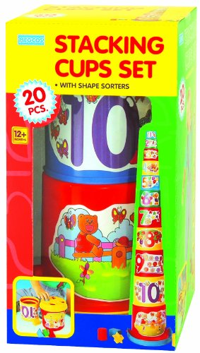 megcos Stacking Cups Set