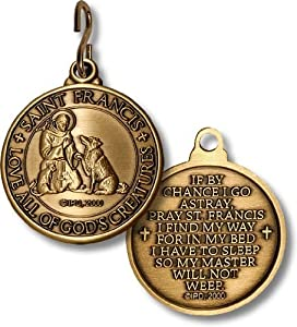 St. Francis Pet Tag