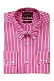 Pure Cotton Fine Striped Shirt [T11-4716-S]