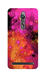 SWAG my CASE Printed Back Cover for Asus Zenfone 2