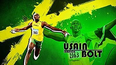 035 Usain Bolt 25x14 inch Silk Poster Aka Wallpaper Wall Decor By NeuHorris