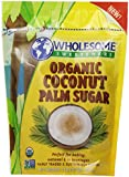 Wholesome Sweeteners Organic Coconut Sugar, 16-Ounce (Pack of 2)