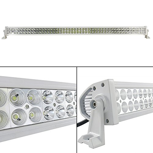 """Generic 50"""" Off Road Led Work Light Bar Flood/Spot Combo Beam-3W Led-300W-24000 Lumen Great For Jeep Cabin/Boat/Suv/Truck/Car/Atv,White Color"""