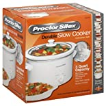 Proctor Silex Slow Cooker, Durable, 3 Quart Capacity
